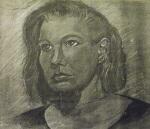 bad photocopy of original portrait, from headshot