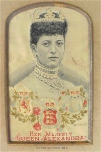 Queen Alexandra and her dog collar