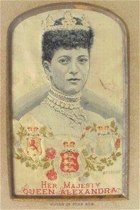 Queen Alexandra and her dog collar